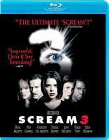 Cover image for Scream 3 [videorecording (Blu-ray)]
