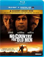Cover image for No country for old men [videorecording (Blu-ray)]