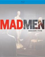 Cover image for Mad men. Season 5 [videorecording (Blu-ray)]