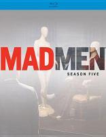 Cover image for Mad men. Season 5 [videorecording (Blu-ray)]