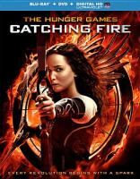 Cover image for The Hunger Games. Catching fire [videorecording (Blu-ray)]