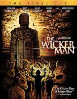 Cover image for Anthony Shaffer's The wicker man [videorecording (Blu-ray)]