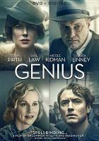 Cover image for Genius [videorecording (DVD)]