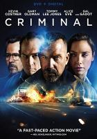 Cover image for Criminal [videorecording (DVD)]