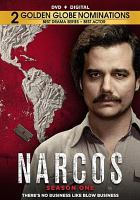 Cover image for Narcos. Season one [videorecording (DVD)]