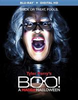 Cover image for Tyler Perry's Boo! [videorecording (Blu-ray)] : a Madea Halloween