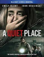 Cover image for A quiet place [videorecording (Blu-ray)]