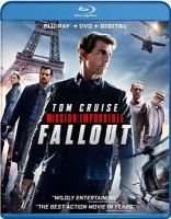 Cover image for Mission, impossible--Fallout [videorecording (Blu-ray)]