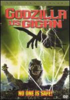 Cover image for Godzilla vs. Gigan [videorecording (DVD)]