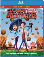 Cover image for Cloudy with a chance of meatballs [videorecording (Blu-ray)]