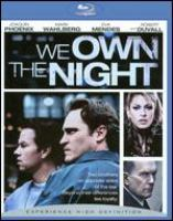 Cover image for We own the night [videorecording (Blu-ray)]