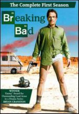 Cover image for Breaking bad. The complete first season [videorecording (DVD)]