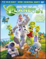 Cover image for Planet 51 [videorecording (Blu-ray)]