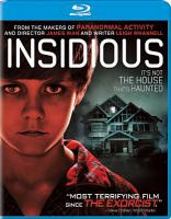 Cover image for Insidious [videorecording (Blu-ray)]