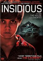 Cover image for Insidious [videorecording (DVD)]