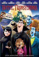 Cover image for Hotel Transylvania [videorecording (DVD)]