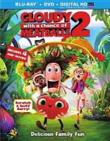 Cover image for Cloudy with a chance of meatballs 2 [videorecording (Blu-ray)]