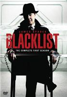 Cover image for The Blacklist. The complete first season [videorecording (DVD)]