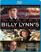 Cover image for Billy Lynn's long halftime walk [videorecording (Blu-ray)]
