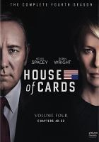 Cover image for House of cards. The complete fourth season [videorecording (DVD)]