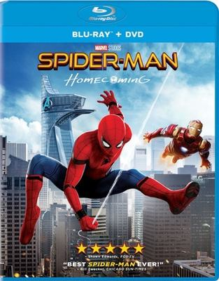 Cover image for Spider-Man. Homecoming [videorecording (Blu-ray)]