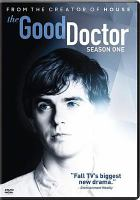 Cover image for The good doctor. Season one [videorecording (DVD)].
