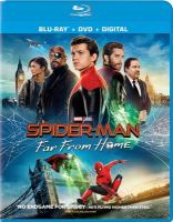 Cover image for Spider-man. Far from home [videorecording (Blu-ray)]