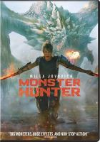 Cover image for Monster hunter [videorecording (DVD)]