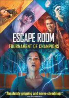 Cover image for Escape room. Tournament of champions [videorecording (DVD)]