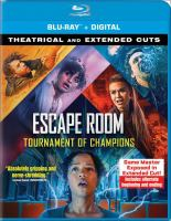 Cover image for Escape room. Tournament of champions [videorecording (Blu-ray)]