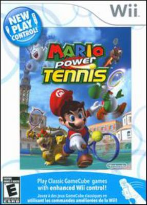 Cover image for Mario power tennis [electronic resource (video game)].