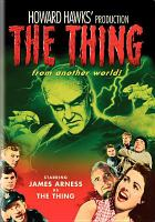 Cover image for The thing from another world [videorecording (DVD)]