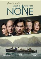 Cover image for And then there were none [videorecording (DVD)]