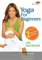 Cover image for Yoga for beginners [videorecording (DVD)]