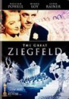 Cover image for The great Ziegfeld [videorecording (DVD)]