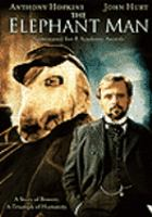 Cover image for The elephant man [videorecording (DVD)]