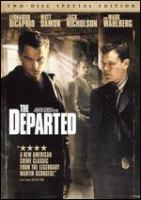Cover image for The departed [videorecording (DVD)]