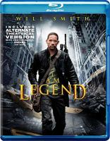 Cover image for I am legend [videorecording (Blu-ray)]