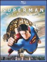 Cover image for Superman returns [videorecording (Blu-ray)]