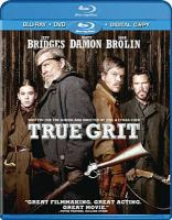 Cover image for True grit [videorecording (Blu-ray)]
