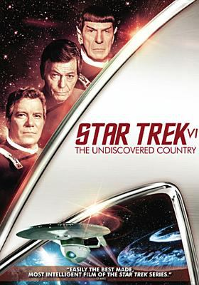 Cover image for Star Trek VI [videorecording (DVD)] : the undiscovered country