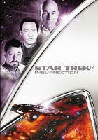 Cover image for Star trek IX [videorecording (DVD)] : insurrection