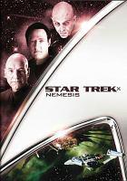 Cover image for Star trek X. : Nemesis [videorecording (DVD)]