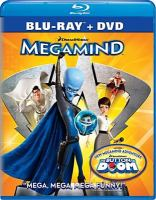 Cover image for Megamind [videorecording (Blu-ray)].
