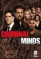Cover image for Criminal minds. The eighth season [videorecording (DVD)]