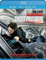 Cover image for Mission impossible [videorecording (Blu-ray)] : Ghost protocol