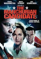 Cover image for The Manchurian candidate [videorecording (DVD)]