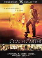 Cover image for Coach Carter [videorecording (DVD)]