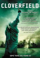 Cover image for Cloverfield  [videorecording (DVD)]