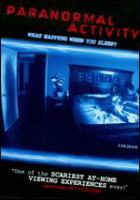 Cover image for Paranormal activity [videorecording (DVD)]